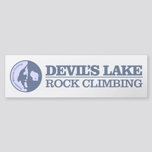 Devils Lake (climbing) Bumper Sticker