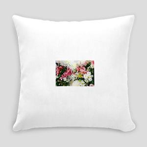 Bouquet Wallpaper Everyday Pillow