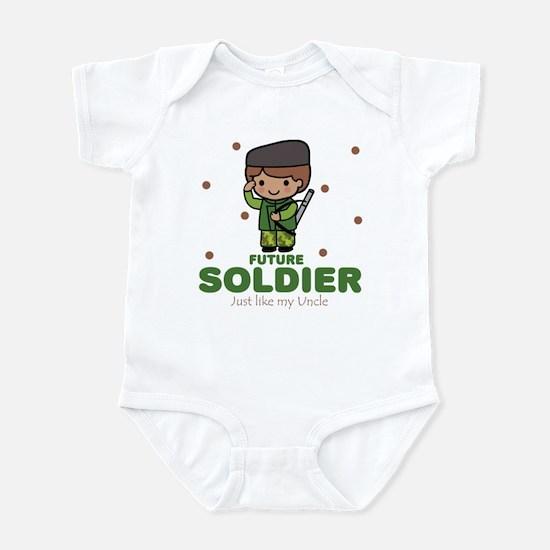 Future Soldier Boy Baby Like Uncle Infant Bodysuit
