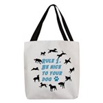 Rule One Polyester Tote Bag