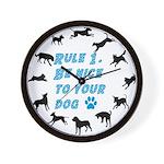 Rule One Wall Clock