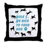 Rule One Throw Pillow