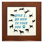 Rule One Framed Tile