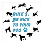 Rule One Square Car Magnet 3