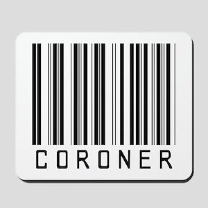 Coroner Barcode Mousepad