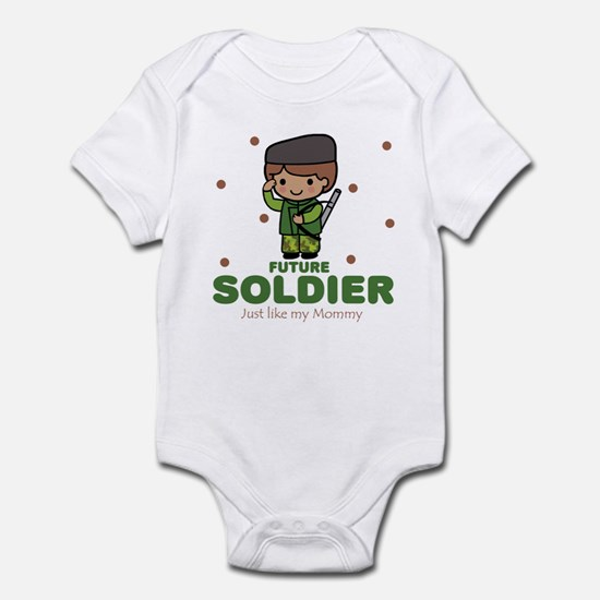 Future Soldier like Mommy Baby Infant Bodysuit