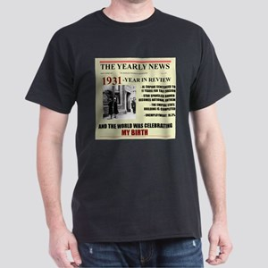 born in 1931 birthday gift Dark T-Shirt