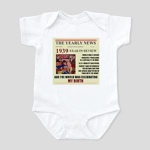born in 1939 birthday gift Infant Bodysuit