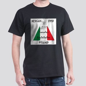Mexican Food Pyramid White T-Shirt