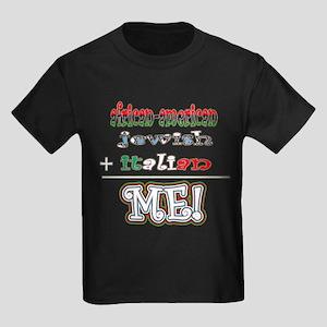 AfrJewiTalian Kids Dark T-Shirt