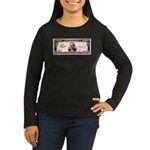 Hundred Grand Women's Long Sleeve Dark T-Shirt