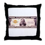 Hundred Grand Throw Pillow