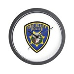 Red Bluff Police Wall Clock