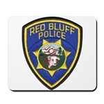 Red Bluff Police Mousepad