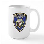 Red Bluff Police Large Mug