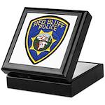 Red Bluff Police Keepsake Box