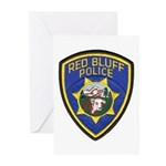 Red Bluff Police Greeting Cards (Pk of 10)
