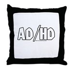 AD/HD Throw Pillow