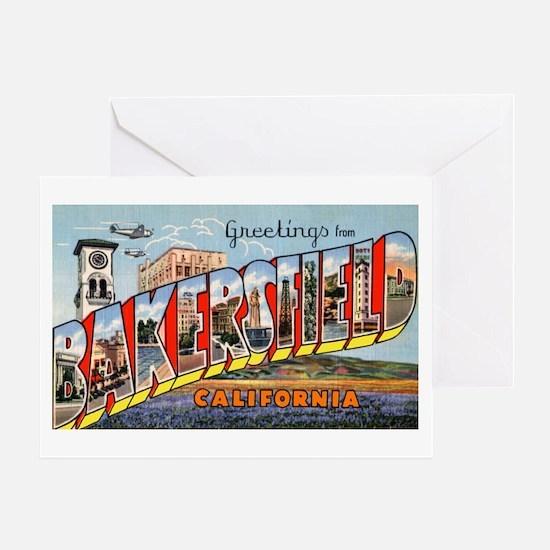 Bakersfield California Greeti Greeting Card