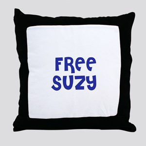 Free Suzy Throw Pillow