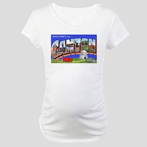 Canton Ohio Greetings Maternity T-Shirt