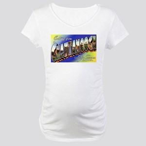 Chattanooga Tennessee Greetin Maternity T-Shirt