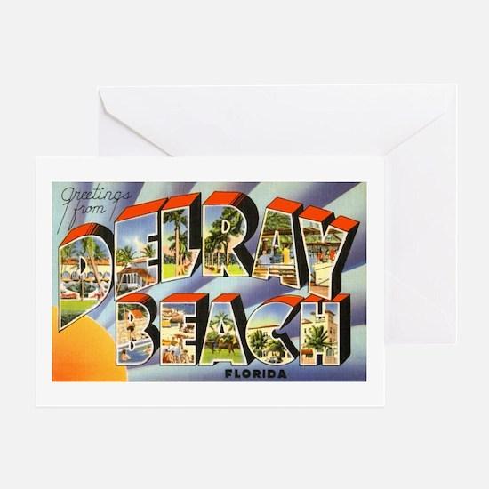 Delray Beach Florida Greeting Card
