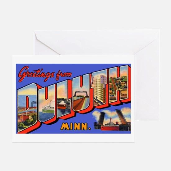 Duluth Minnesota Greetings Greeting Card