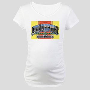 Frankfort Kentucky Greetings Maternity T-Shirt