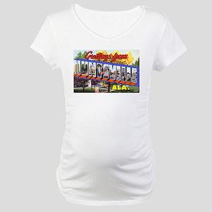 Huntsville Alabama Greetings Maternity T-Shirt