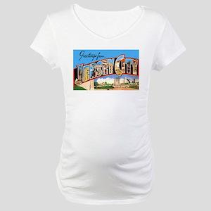 Jersey City New Jersey Maternity T-Shirt