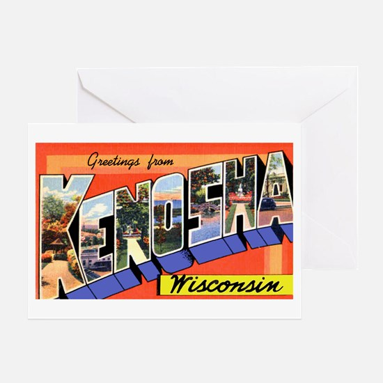 Kenosha Wisconsin Greetings Greeting Card