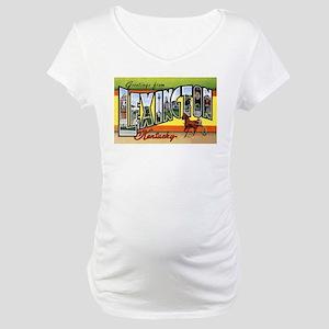 Lexington Kentucky Greetings Maternity T-Shirt