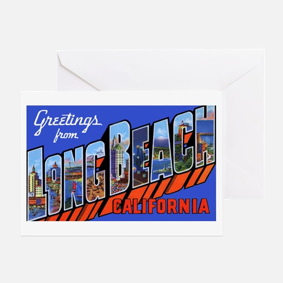 Long Beach California Greeting Card
