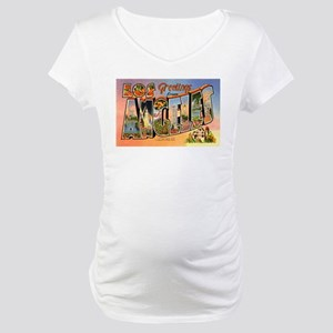 Los Angeles California Greeti Maternity T-Shirt