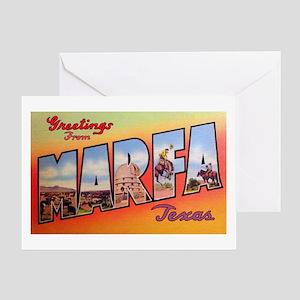 Marfa Texas Greetings Greeting Card