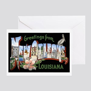 New orleans greeting cards cafepress new orleans louisiana greetin greeting card m4hsunfo