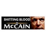 Shitting Blood Bumper Sticker