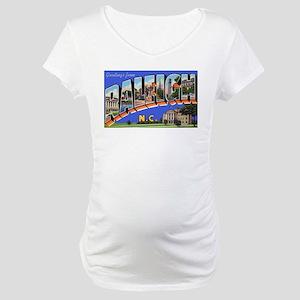 Raleigh North Carolina Greeti Maternity T-Shirt