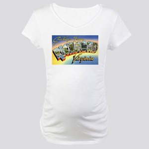 Richmond Virginia Greetings Maternity T-Shirt