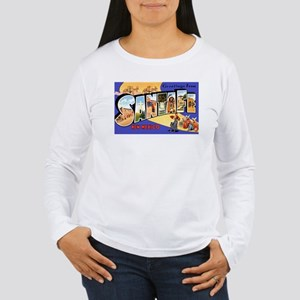 Santa Fe New Mexico Greetings Women's Long Sleeve