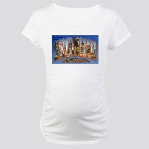 Savannah Georgia Greetings Maternity T-Shirt