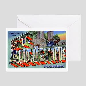 St. Augustine Florida Greetin Greeting Card