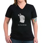 Women's V-Neck Dark Glenda T-Shirt