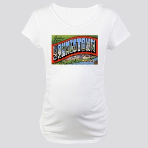 Youngstown Ohio Greetings Maternity T-Shirt