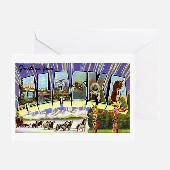 Alaska Greetings Greeting Card