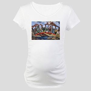 Colorado Greetings Maternity T-Shirt