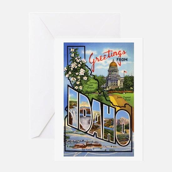 Idaho Greetings Greeting Card