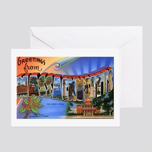 Massachusetts Greetings Greeting Card