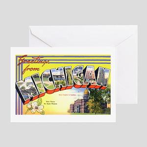 Michigan Greetings Greeting Card